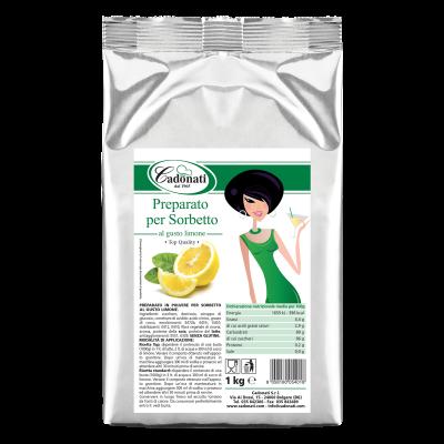 Preparato per Sorbetto gusto limone