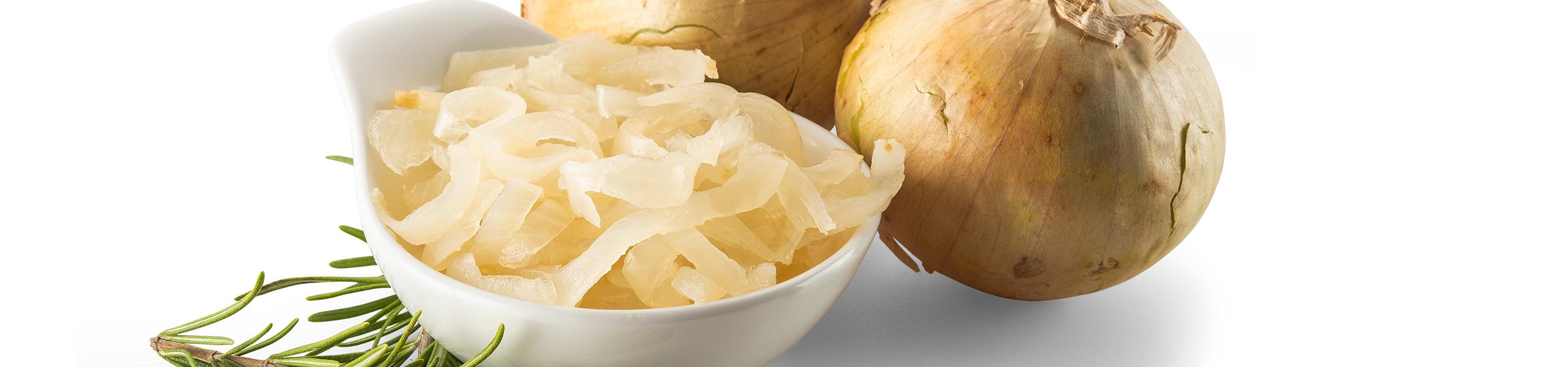 Cipolle Borretane affettate al naturale