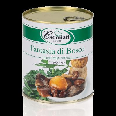 Fantasia di Bosco funghi misti trifolati