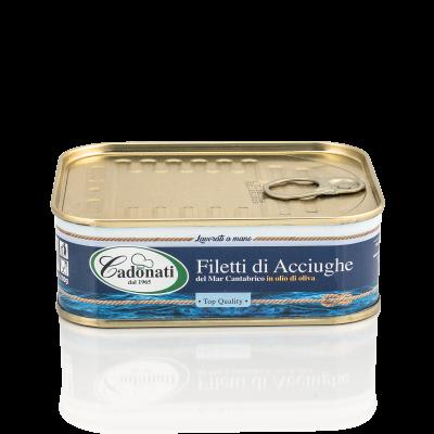 Filetti di Acciughe in olio d'oliva