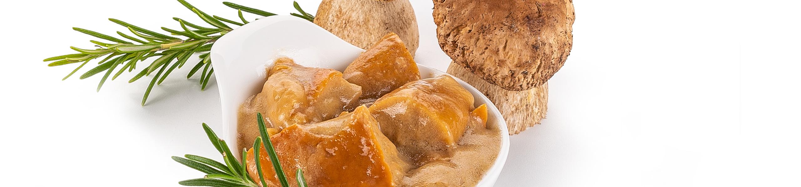 Gusto Ricco Funghi porcini trifolati