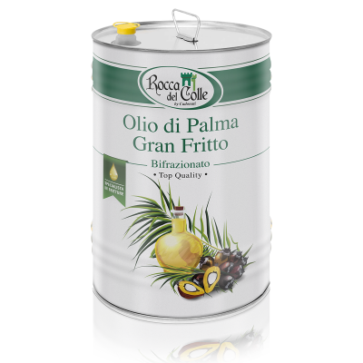 Olio di Palma Gran Fritto Bifrazionato