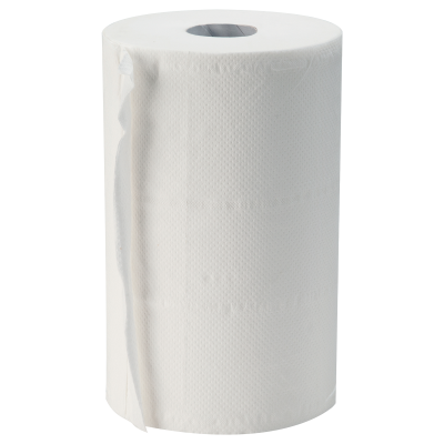 Asciugamani a rotolo e asciugatutto in pura cellulosa