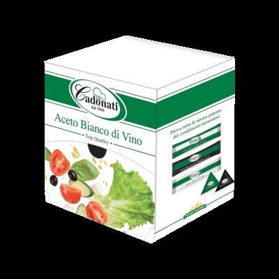Box Aceto Bianco di Vino 100 pz.