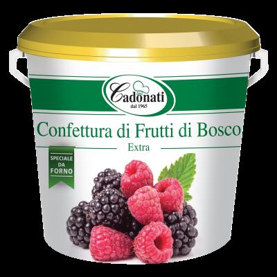 Confettura Extra di Frutti di Bosco da forno