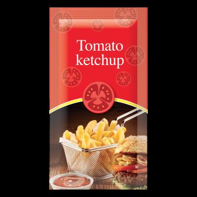 Tomato Ketchup in bustina