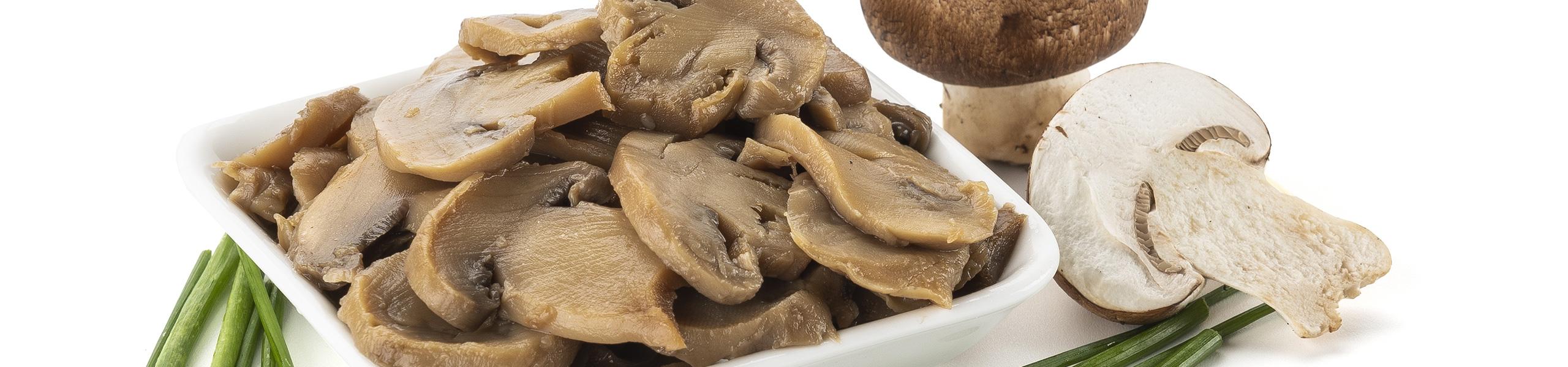 Funghi Champignons al naturale Maxi Resa