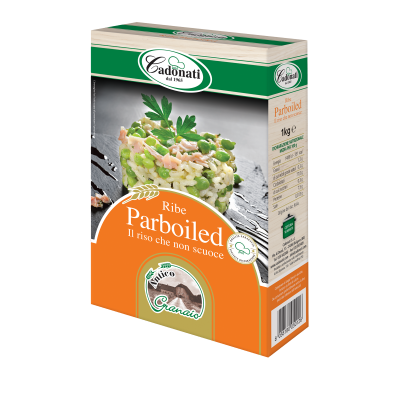 Riso Ribe Parboiled sottovuoto 1 Kg